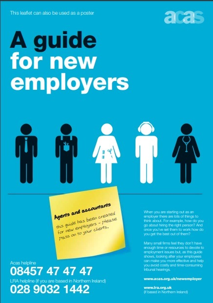 ACAS guide for new employers
